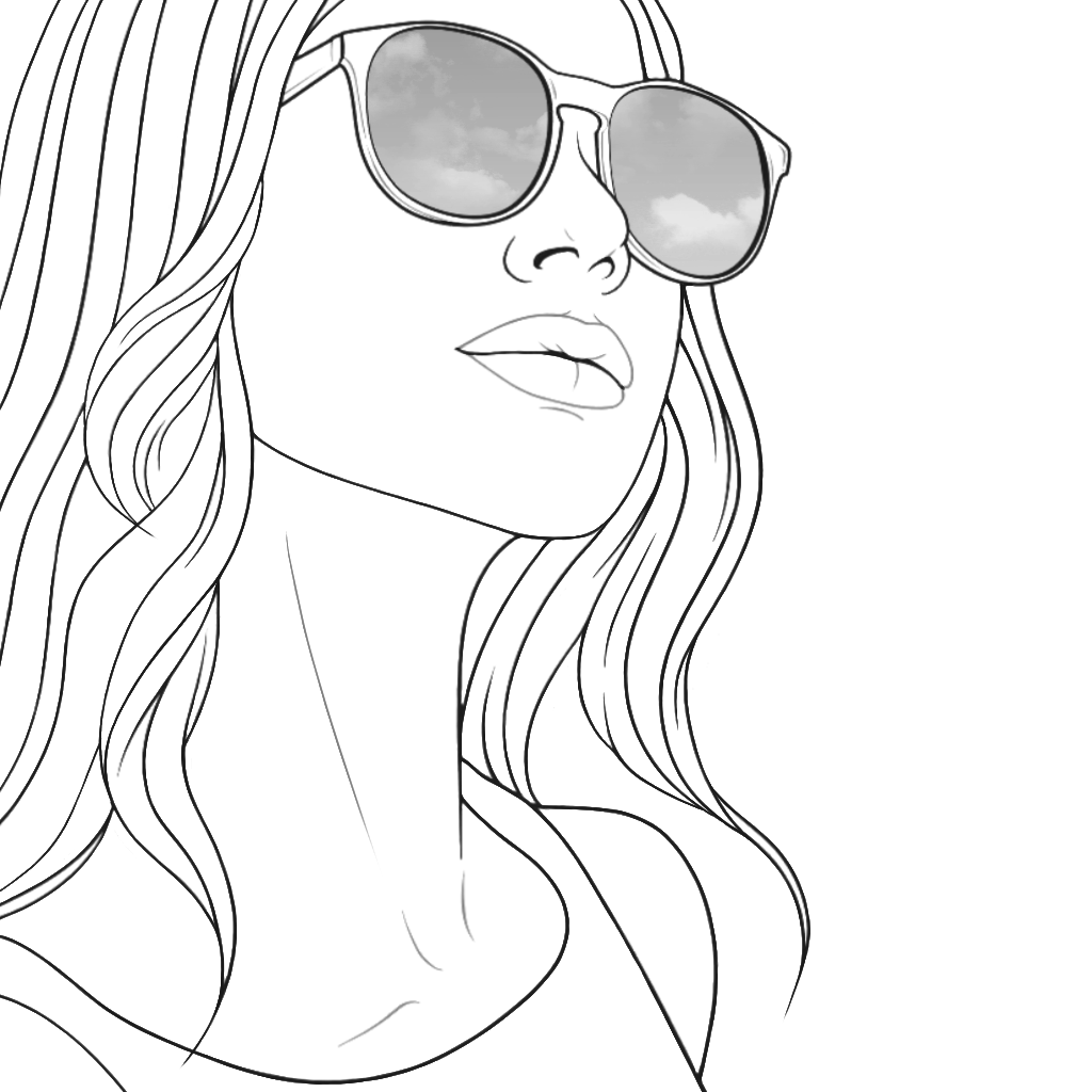 Pin By Color Therapy On Recolor Modified Version People Coloring Pages Tumblr Coloring Pages Coloring Books [ 1024 x 1024 Pixel ]