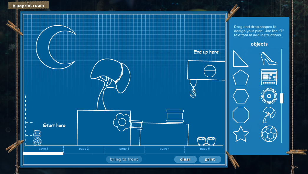 The littlebigplanet blueprint maker references pinterest the littlebigplanet blueprint maker malvernweather Choice Image