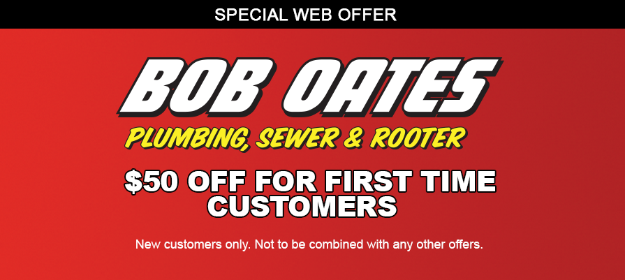 First Time Customers Save 50 With Us Plumbing Seattle Plumber First Time Bob