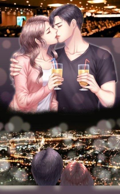 Pin Oleh Jasmine Di Your Pinterest Likes Anime Ciuman Animasi Romantis