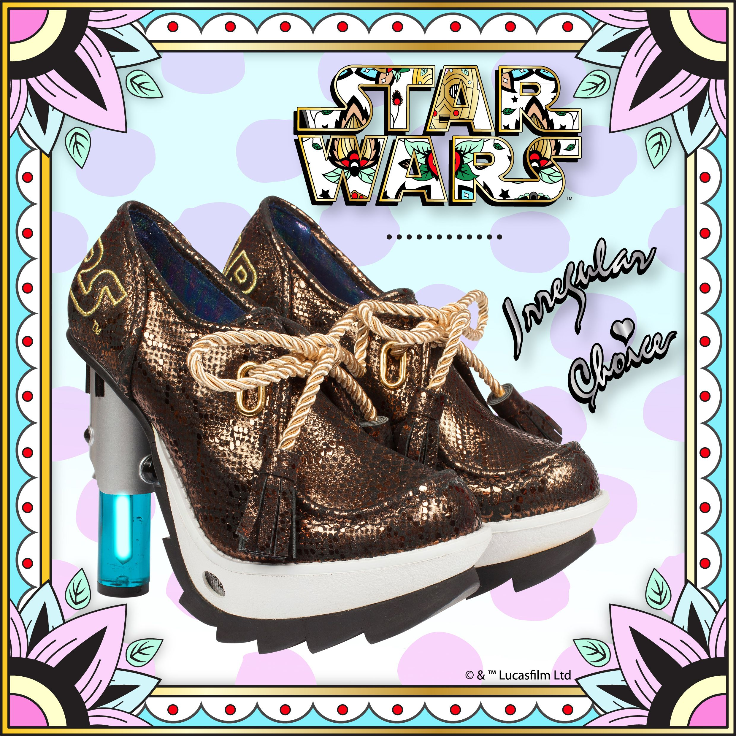 """Patience you must have young Padawan"" Its not long now … Irregular Choice 