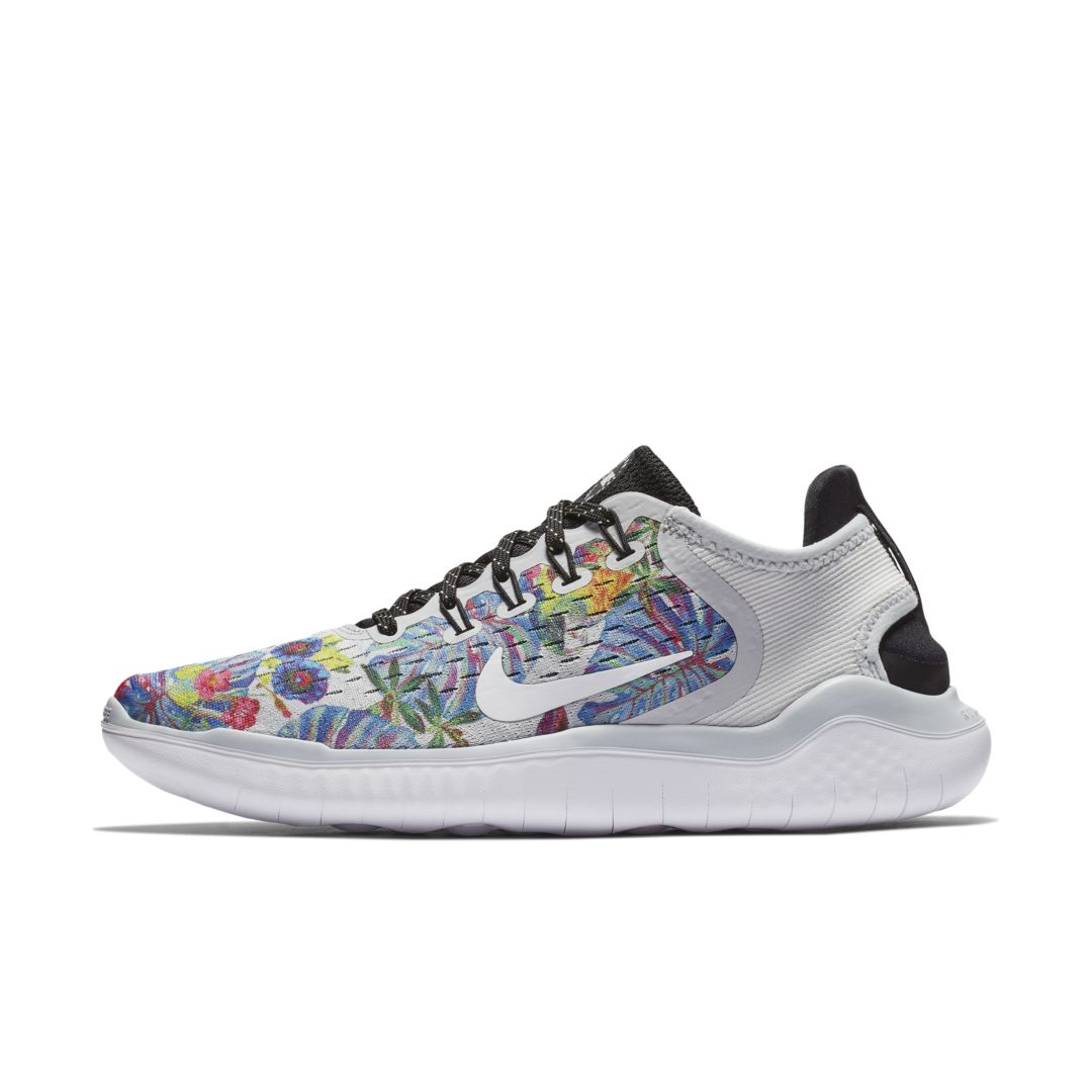 Nike Free Rn 2018 Floral Women S Running Shoe Size Running Shoes