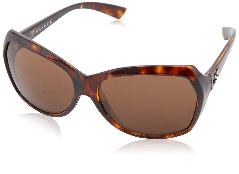 Kaenon Women's Shilo B12 Square Polarized Sunglasses