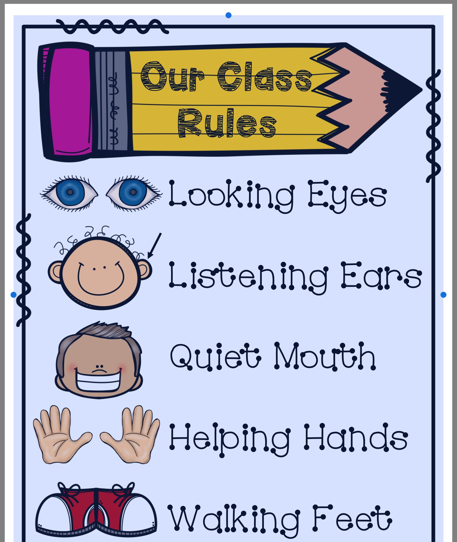 Pin By Jennifer Bailey On Classroom Rules