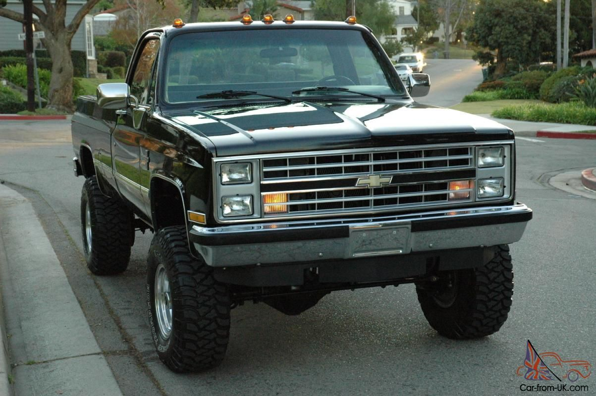 1984 chevy silverado 4x4 for sale google search belles caisses caisse. Black Bedroom Furniture Sets. Home Design Ideas