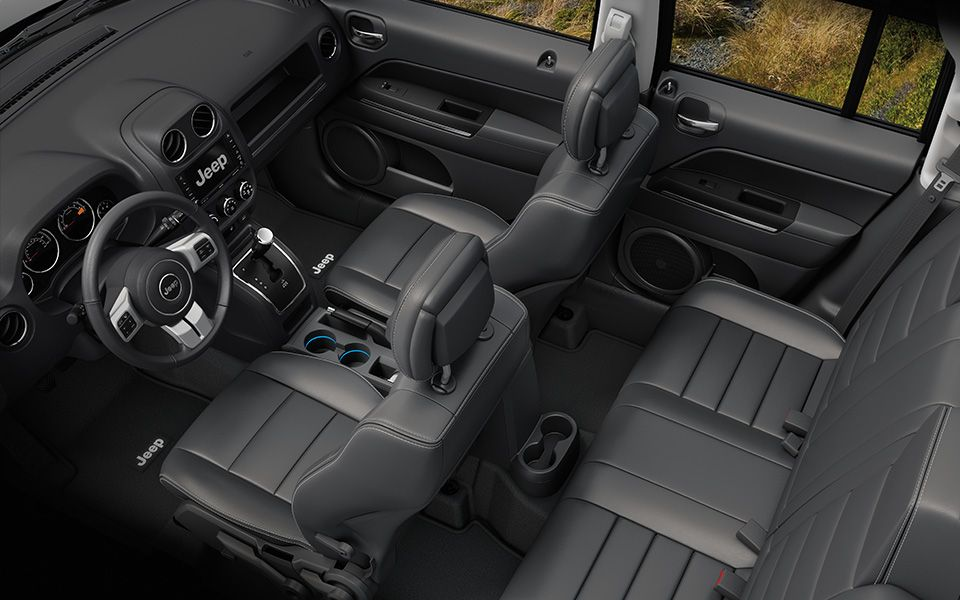 Jeep Patriot Limited offers plenty of room for your guests