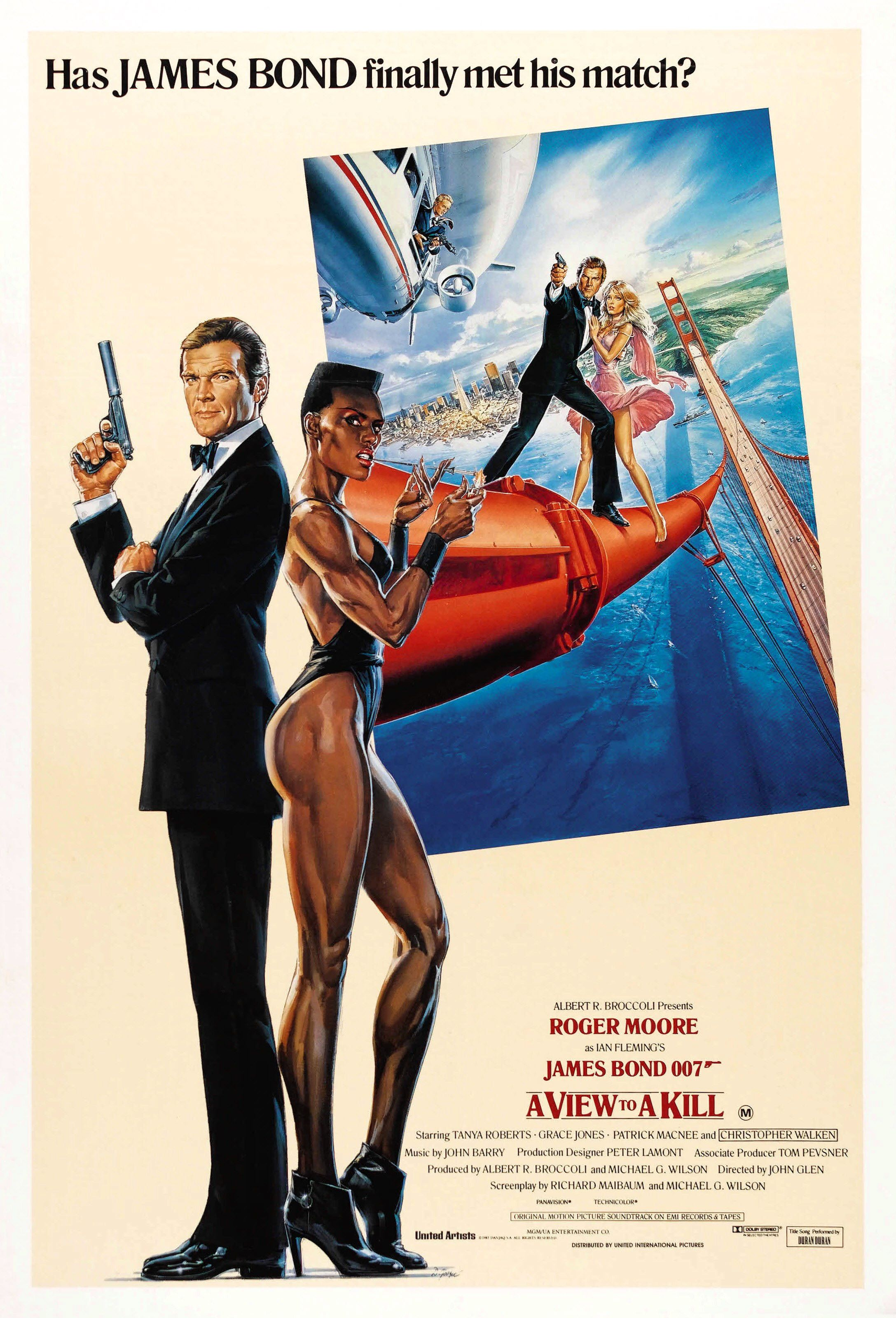 A View To A Kill 1985 James Bond Movie Posters James Bond