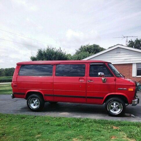 My 95 Chevy G20 Sport Van Chevy Van Van Cool Vans