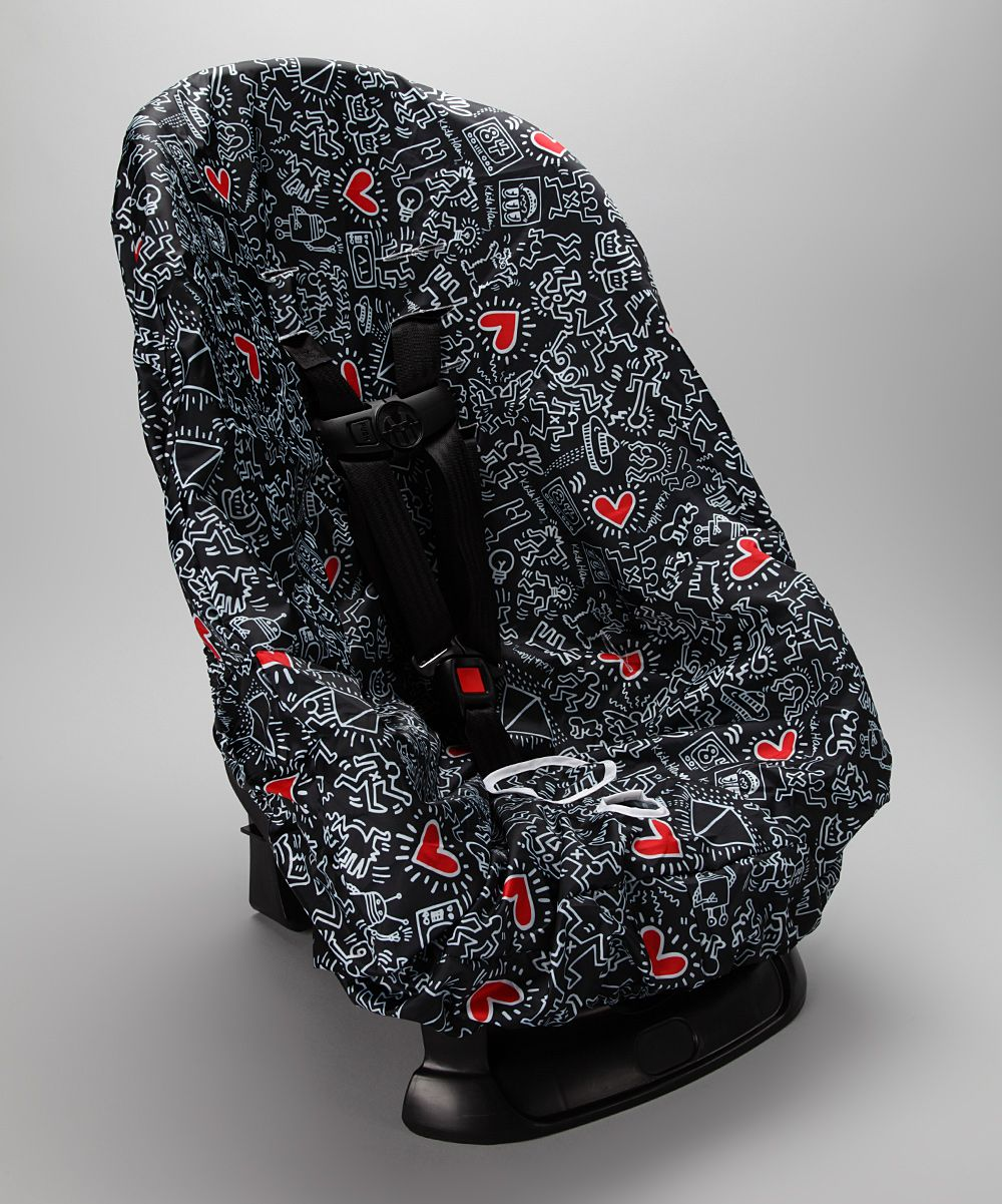 Keith Haring Graffiti Heart Car Seat Cover Keith haring