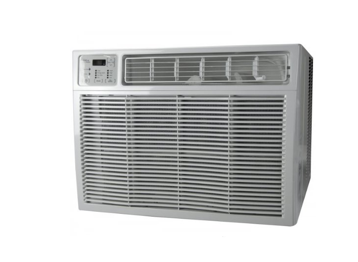 the air conditioner that falls from Megs window Air
