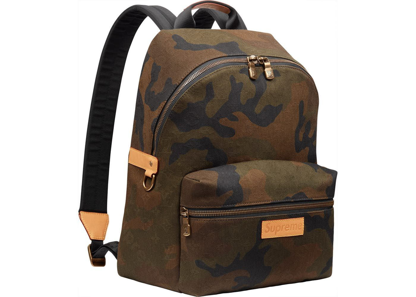 2f95643c3f33 Louis Vuitton x Supreme Apollo Backpack Monogram Camo