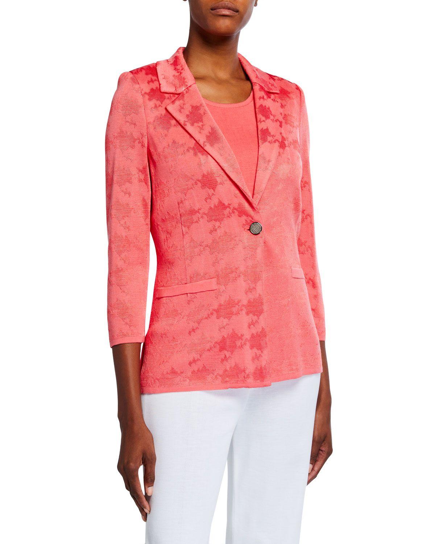MISOOK Tonal Textured Jacket