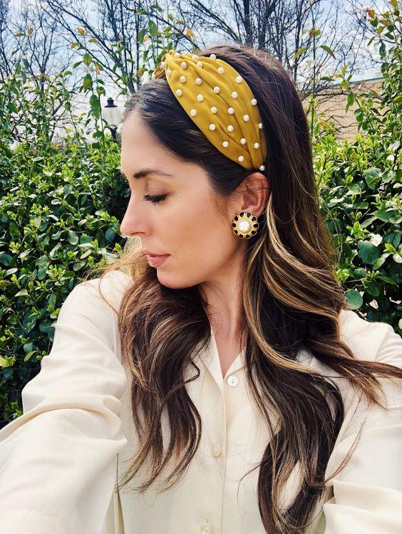 docena Suave Amperio  Diademas 2019 XL u oversize - El inesperado regreso de este accesorio |  Peinado con diadema, Pañuelos para cabello, Diademas de moda