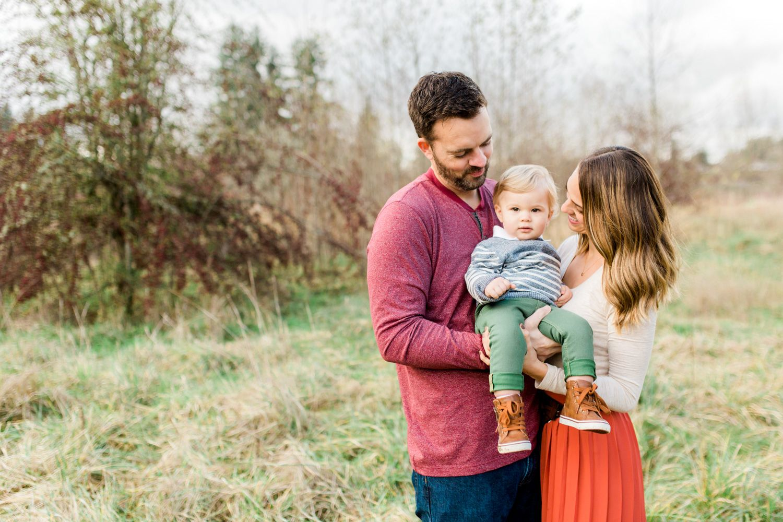 Olympia, WA Pioneer Park Family Photo Session Family