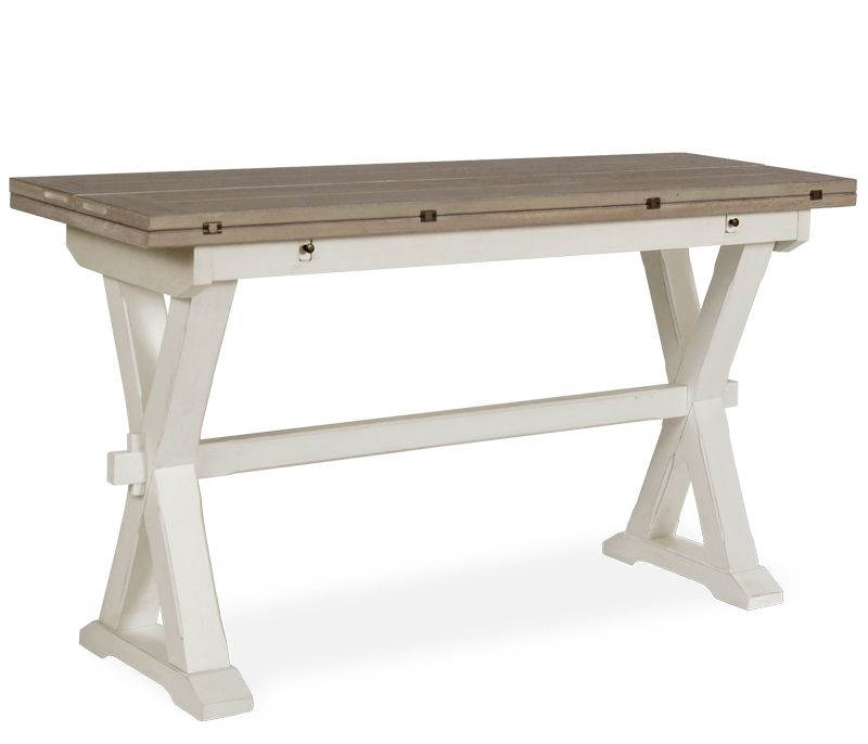 Flip top dining table hyannis flip top table condo for Flip top dining table ikea