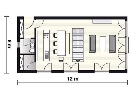 reduziert gestaltetes fertighaus planmaterial fertighaus. Black Bedroom Furniture Sets. Home Design Ideas