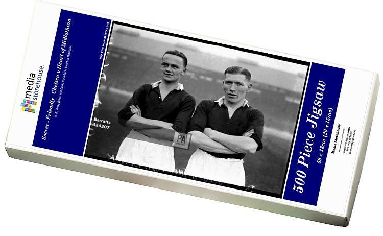 Print Of Soccer Friendly Chelsea V Heart Of Midlothian In 2020 Midlothian Friendly Chelsea