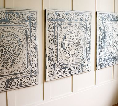 Large Decorative Wall Tiles Vintage Ceiling Tiles For Wall Decor  Decorating Ideas