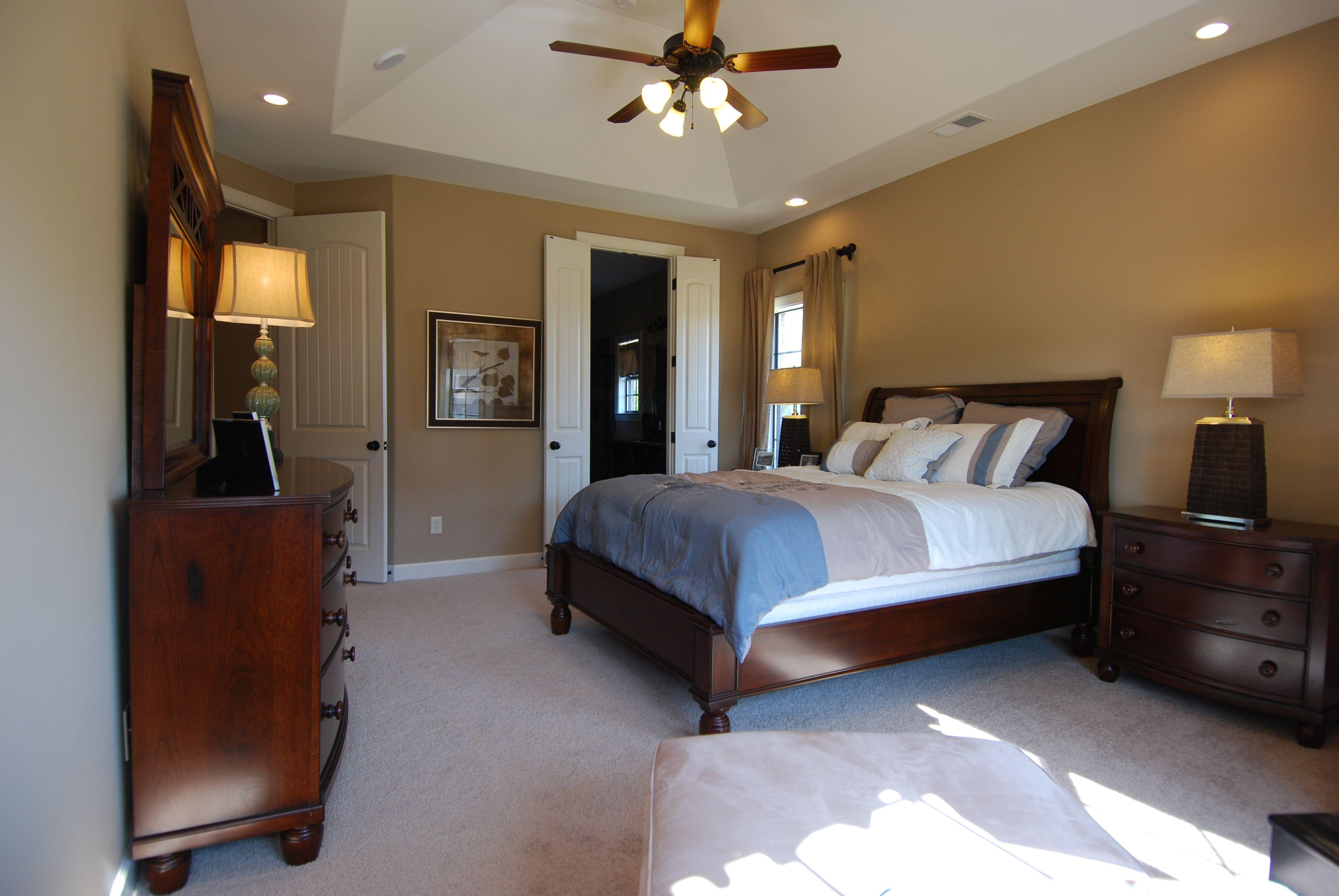 Regency Homebuilders : Large Master Bedroom, Neutral, Pops Of Color, Recessed  Lighting,