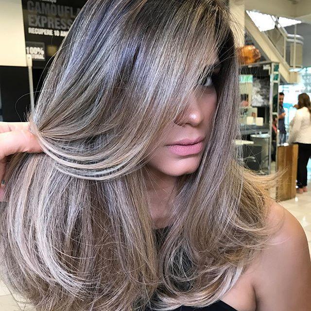 39 New Ash Grey Hair Color For Morena
