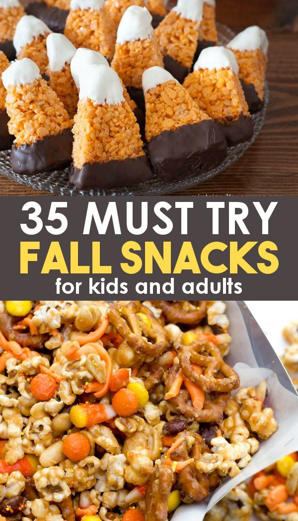 35 Must Try Fall Snacks!