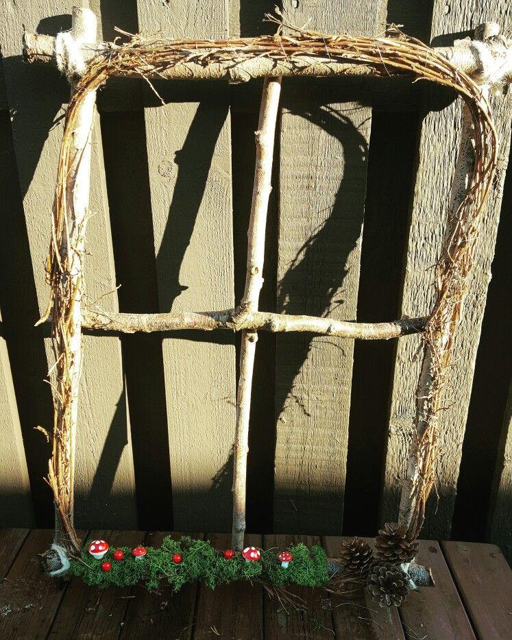 Tree window ☺ Mysigt fönster och lätt att göra 😁 #jul - dekoration für küche