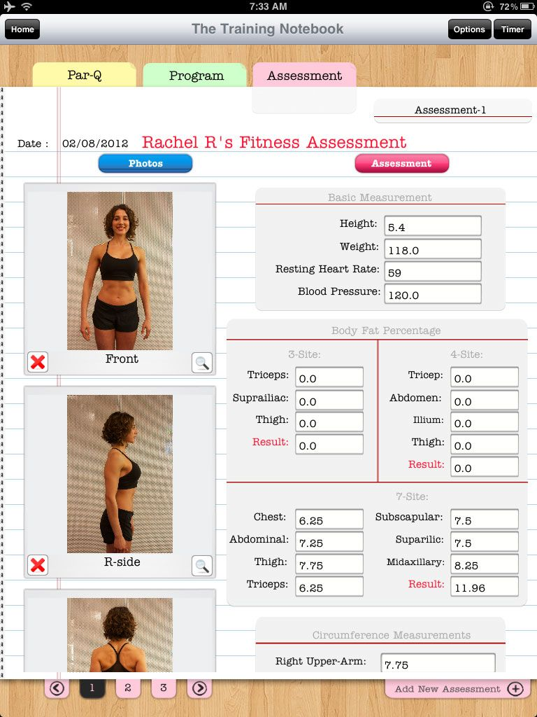 The Training Notebook Ipad App For Fitness Trainers  Fitness
