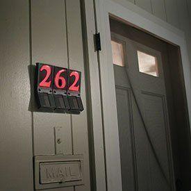 Ezview Solar Powered Address Numbers By Ez Light 10 32