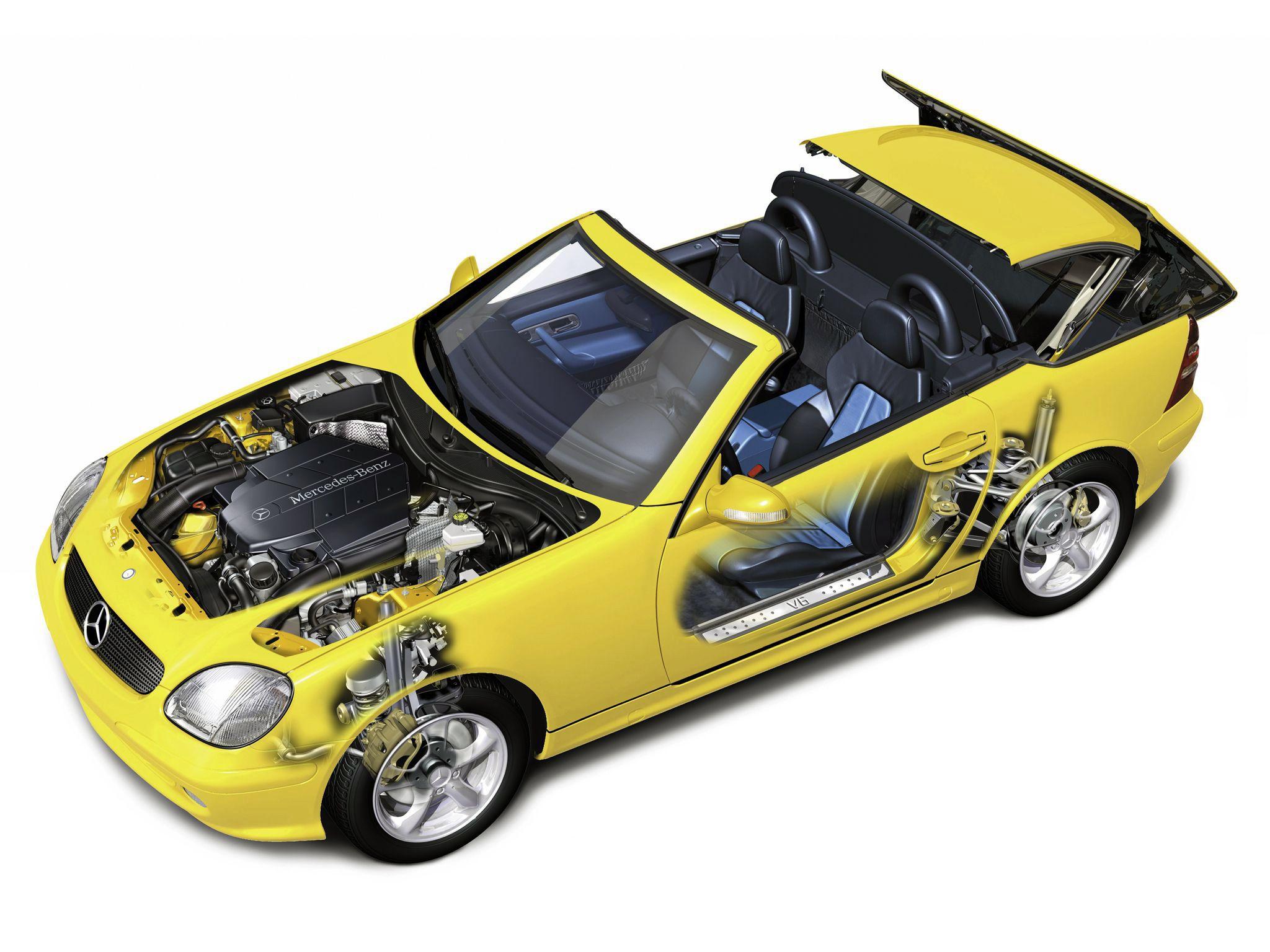 1996 2000 Mercedes Benz Slk Class R170