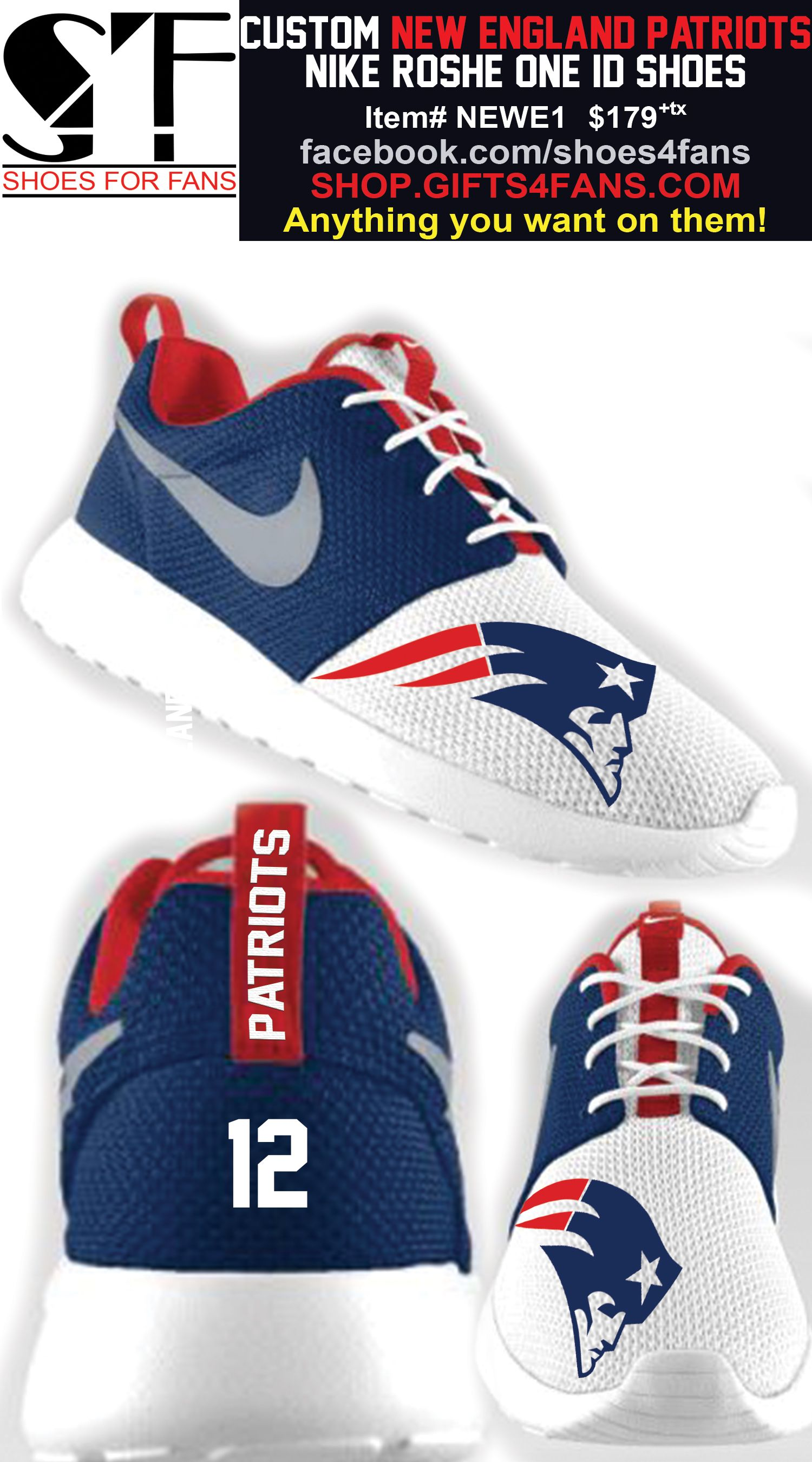 Pin by Kristin Robinson on Patriots shoes  d1a435ef6