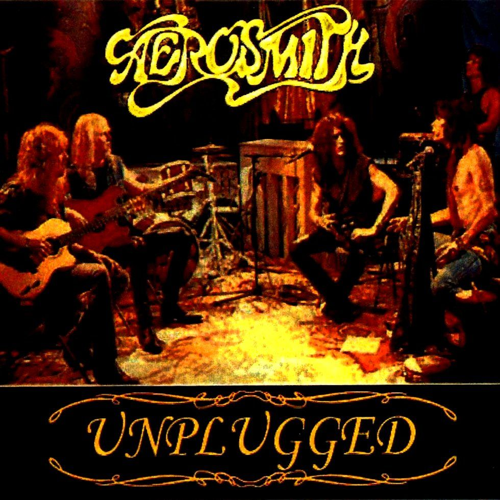 Aerosmith 1990 Mtv Unplugged Aerosmith Cantantes Musica