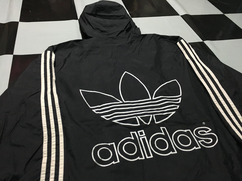 arma terminado Rizo  Vintage Adidas original jacket hooded windbreaker parka big | Etsy | Adidas  originals jacket, Vintage adidas, Jackets