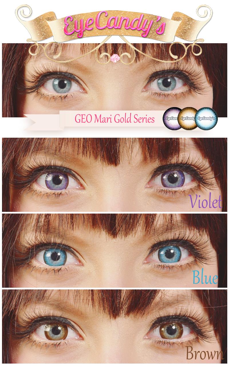 Color contact lenses online shop - Neo Extra Dali Violet Blue Contactscolored