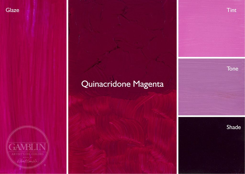 Quinacridone Magenta Quinacridone Y Pr 122 Lightfastness I T Coolest Quin Red Makes High Key Tints And In Mixtur Color Mixing Chart Color Mixing Artist