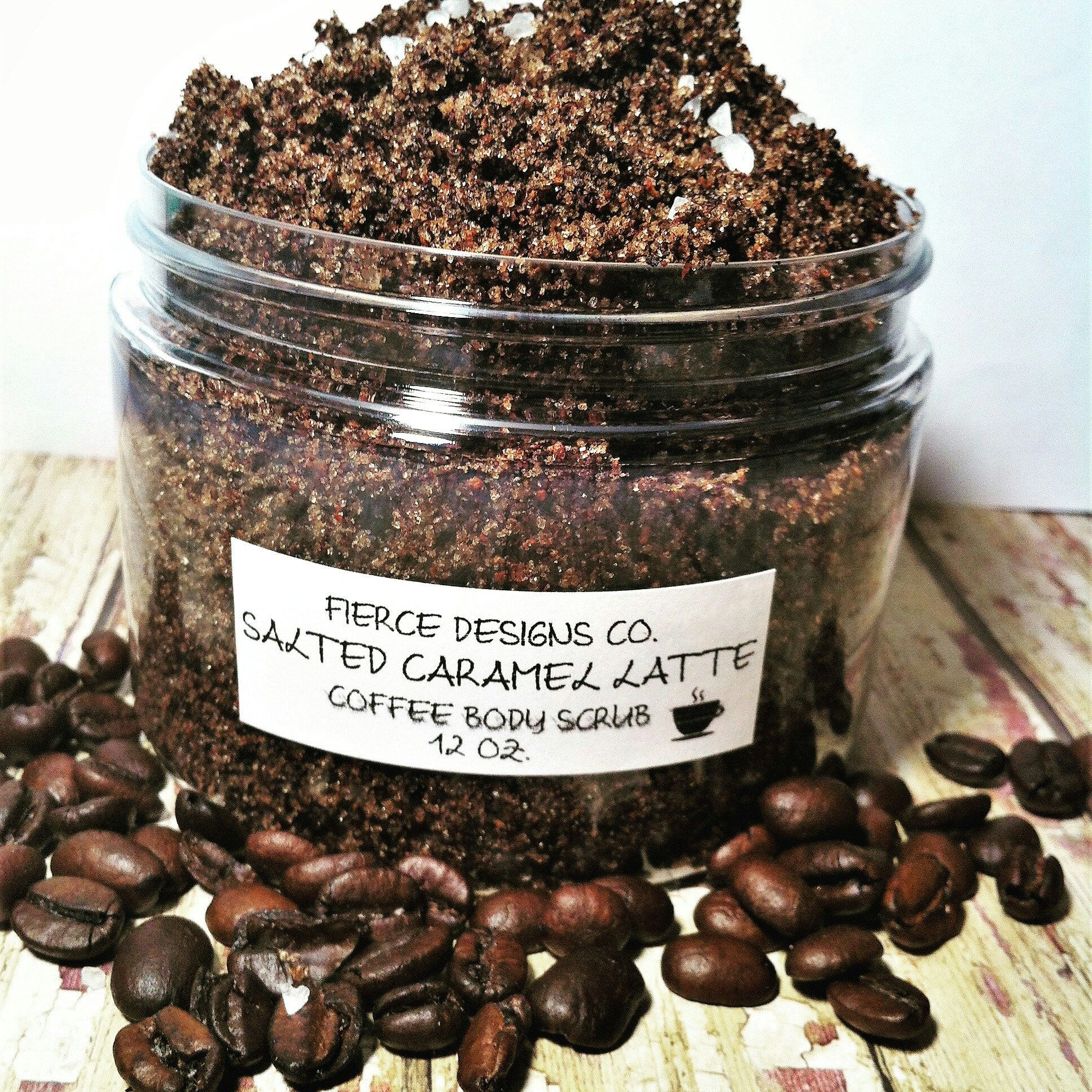 Welcoming This Salted Caramel Latte Scrub To Our Shop