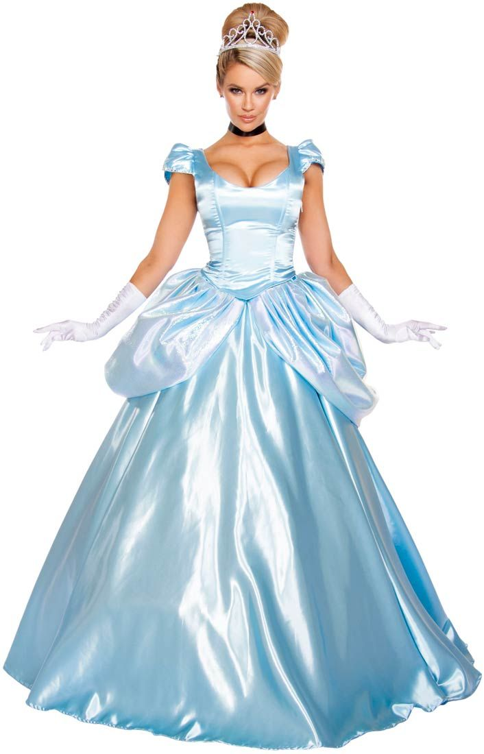Adult Premium Cinderella Princess Costume | Costume Craze ...