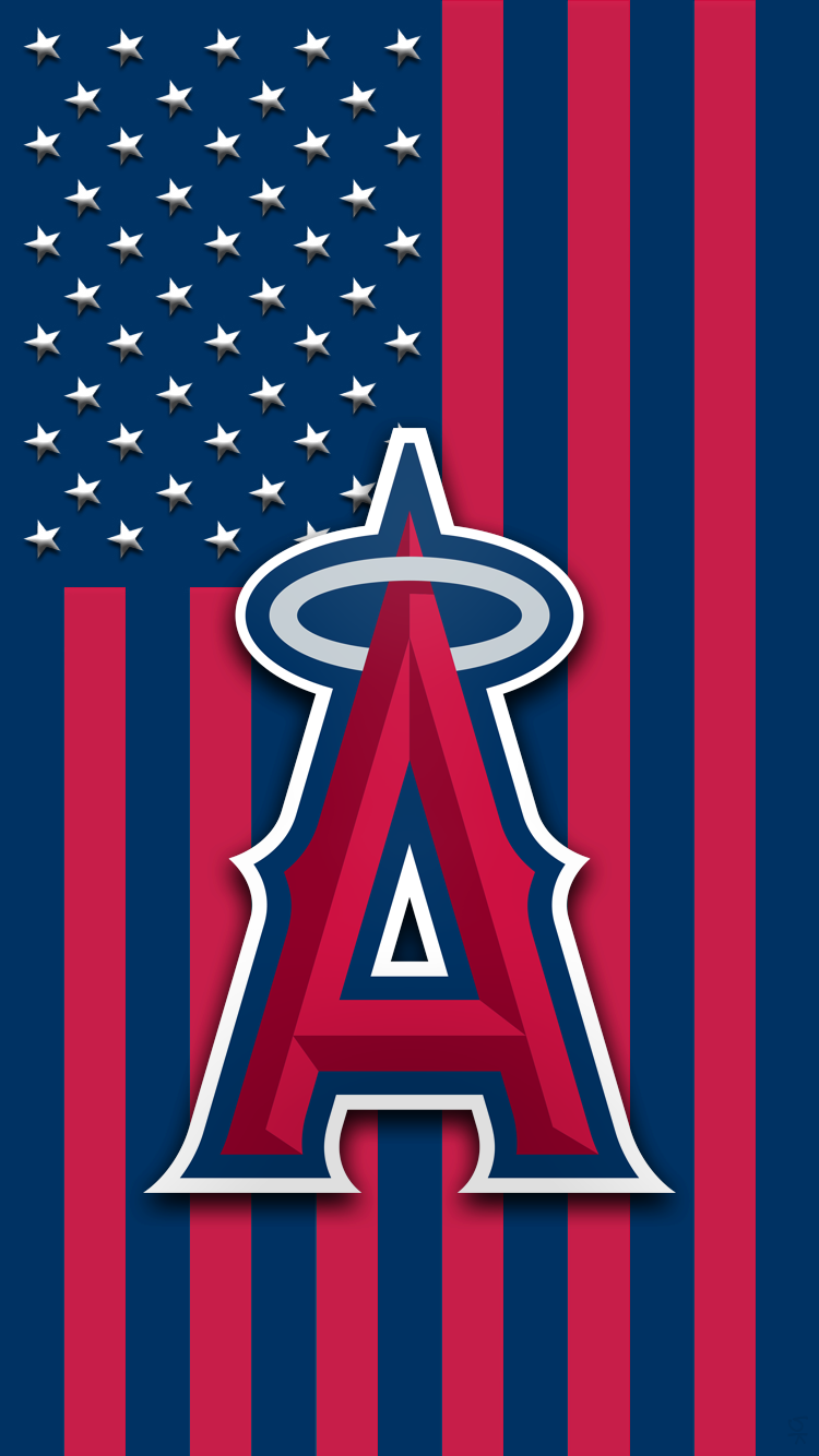 X Los Angeles Angels Los Angeles Angels Mlb Logo Art Angel Wallpaper Los Angeles Angels Baseball Wallpaper