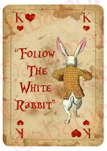 Alice In Wonderland Arrow Quote Signs Prop Mad Hatters Tea Party