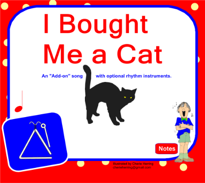 Bought Me A Cat play along SMART Board file. Check out Cherie Herring's other file submissions too.
