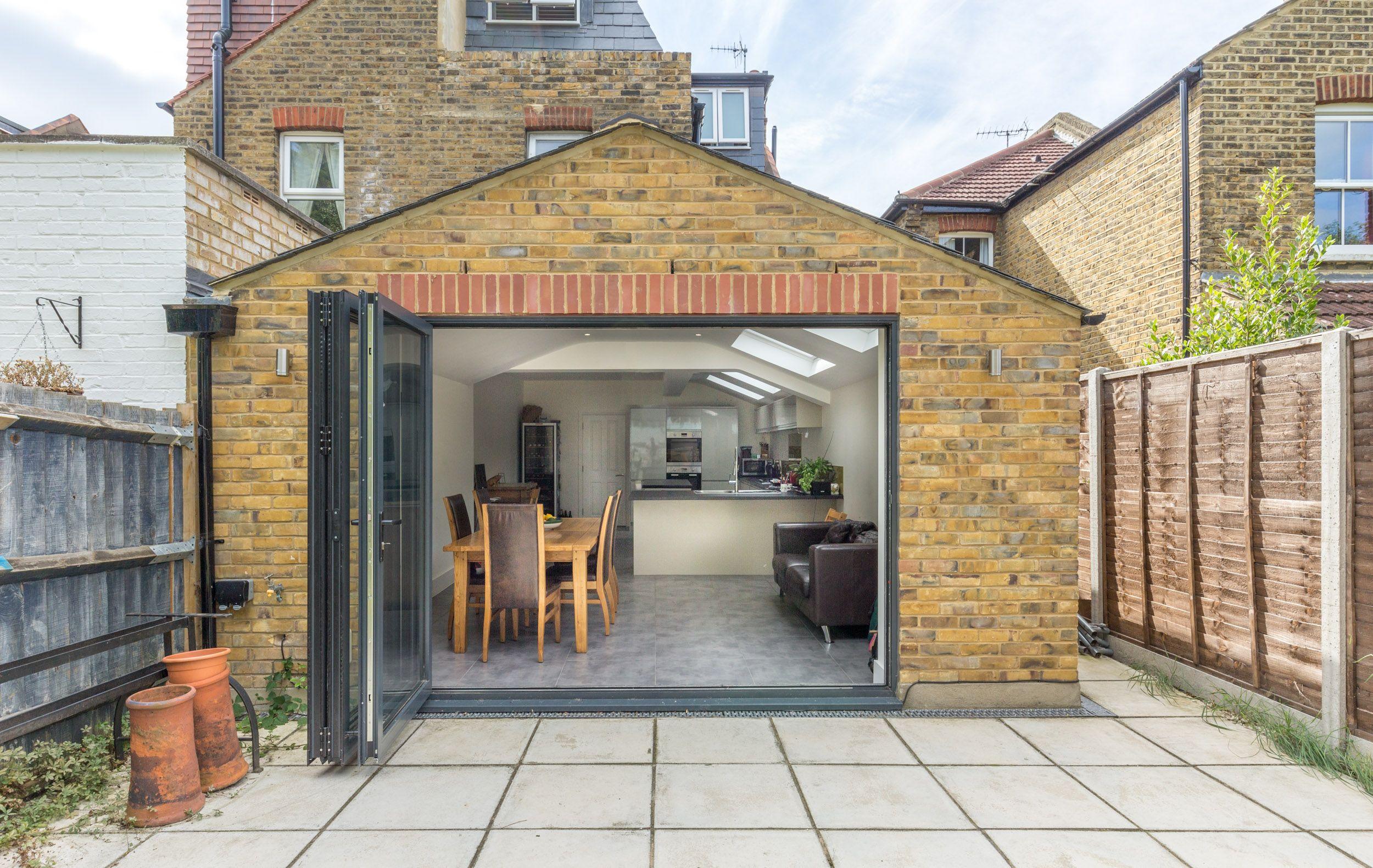 Rear extension london terrace property london stock for Terrace extension