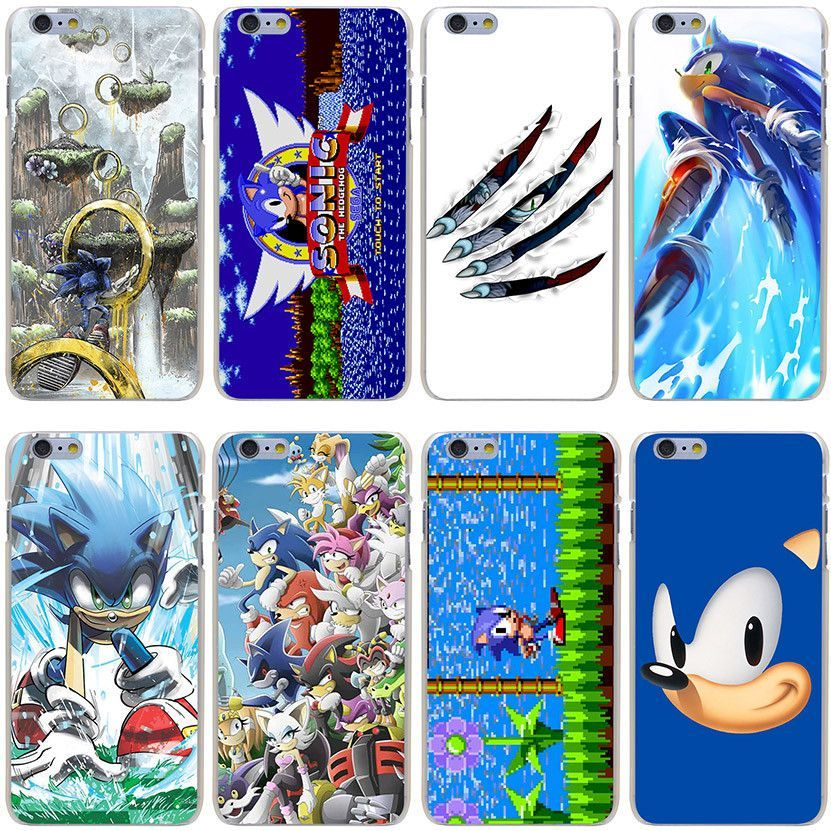 Sonic the Hedgehog Hard Phone Cover Case for iPhone 7 7 Plus 6 6S Plus 5 5S SE 5