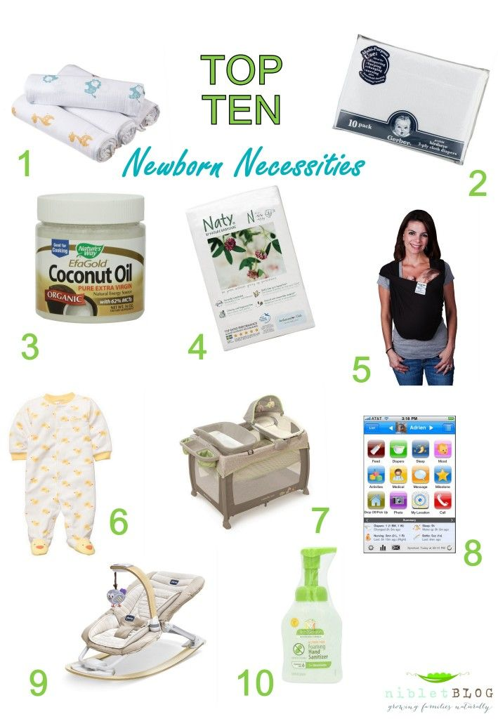 4ba979091ef Top 10 Newborn Necessities | Niblet blog | Newborn necessities ...