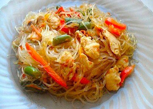 Рисовая лапша как готовить