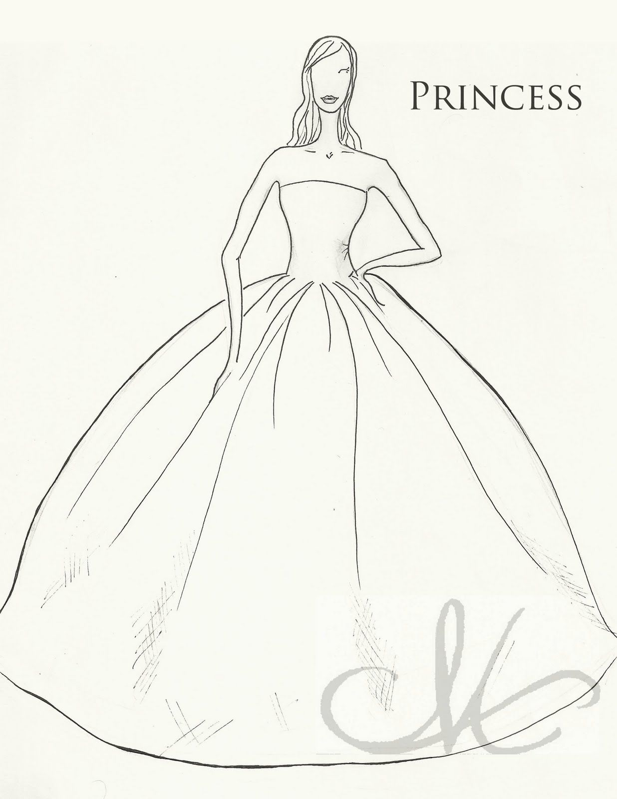 6979dee50ed The dainty domestress dress week silhouettes also sketches drawings rh in  pinterest