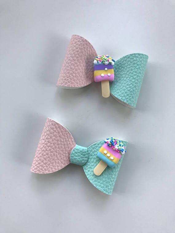 Ice cream bow! Choose between 5or 3 | Украшения для волос ...