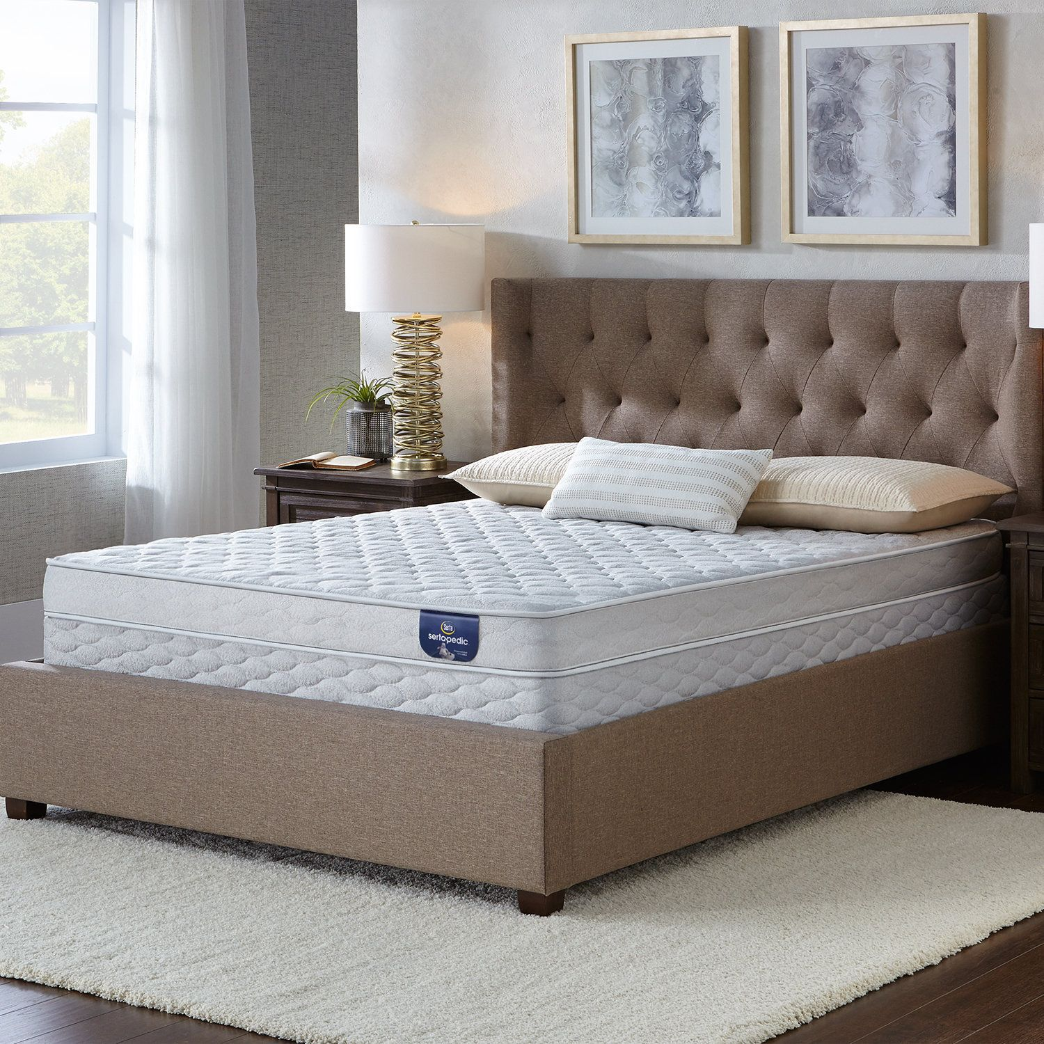 Serta Bluefield Firm 5inch Twinsize Foam Mattress Set