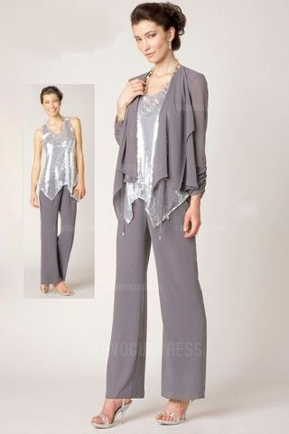 Cocktail dress pant suit