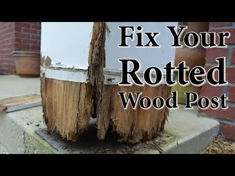 Diy porch post repair fix your rotted wood post youtube moving diy porch post repair fix your rotted wood post youtube solutioingenieria Gallery