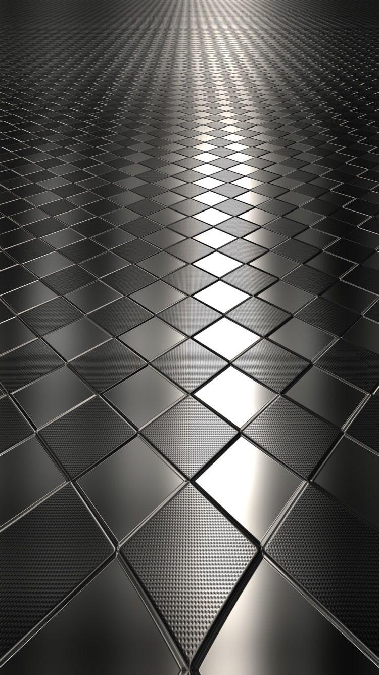 Chrome Textured Tiles Wallpaper Samsung wallpaper
