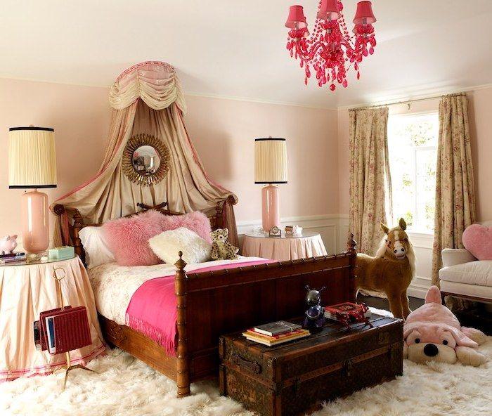 chambre fille beige et rose good peinture couleur bois de